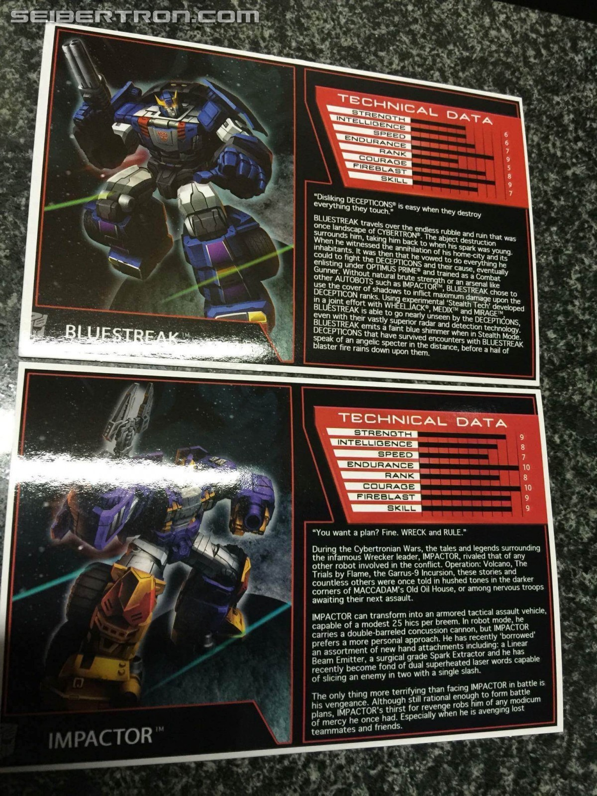 Transformers News: Transformers Subscription Service 4.0 Impactor and Bluestreak Arriving and In Hand Images