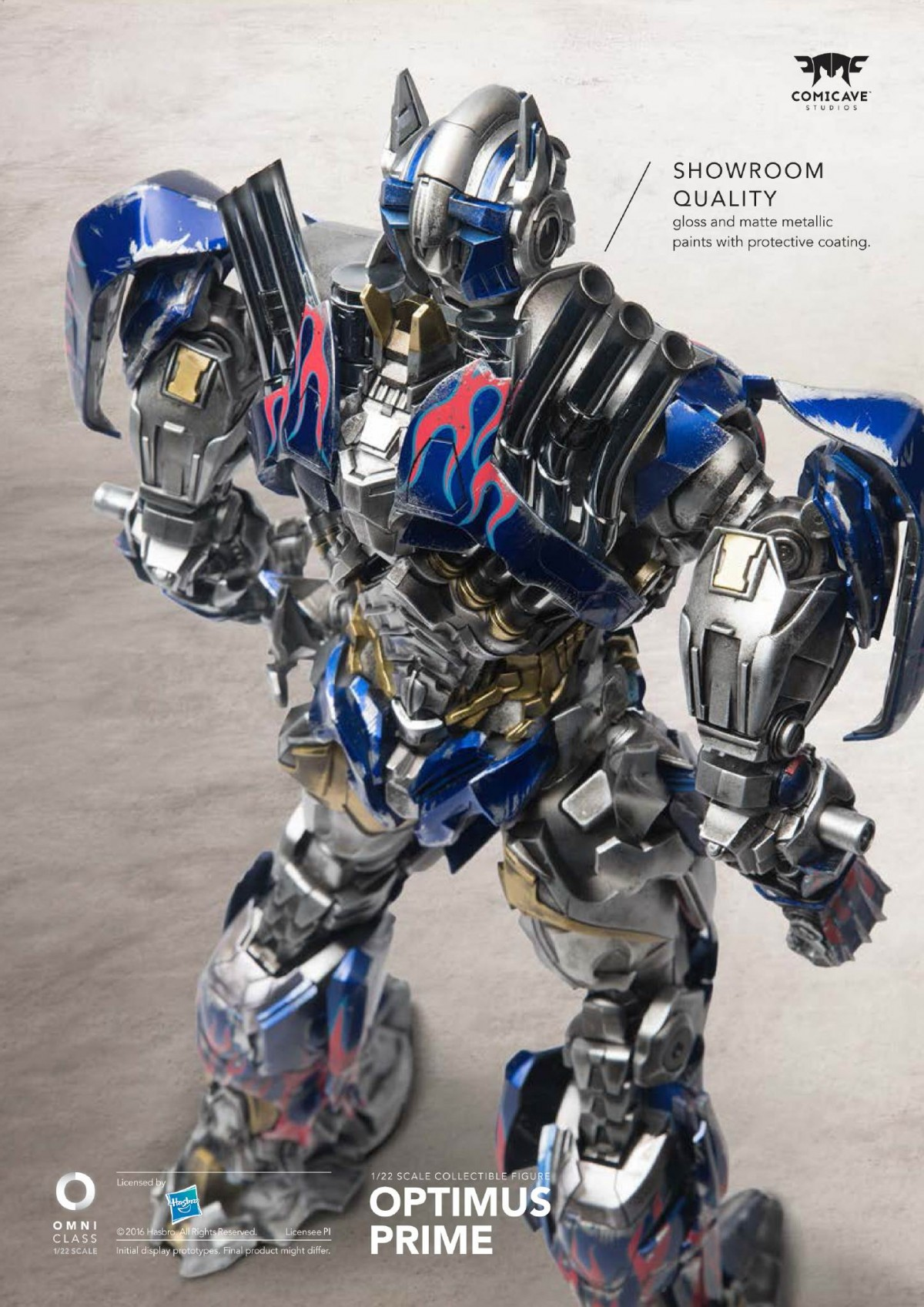 Transformers News: Re: Toy Fair 2016 - Comicave Studios Transformers Collectable Figures #HasbroToyFair #TFNY