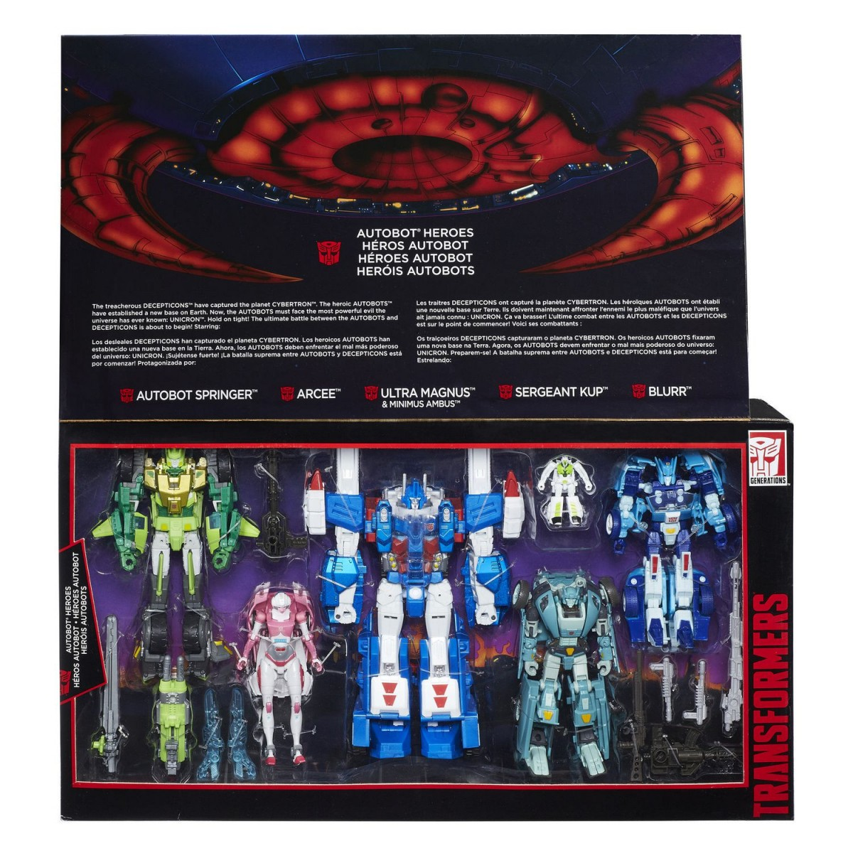 Transformers News: Transformers Generations Platinum Edition Autobot Heroes Set Listed At Wal-Mart.ca