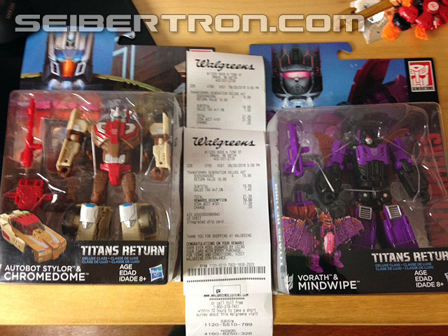 Transformers News: Titan Returns Deluxe Class Wave 2 Sighted At US Retail