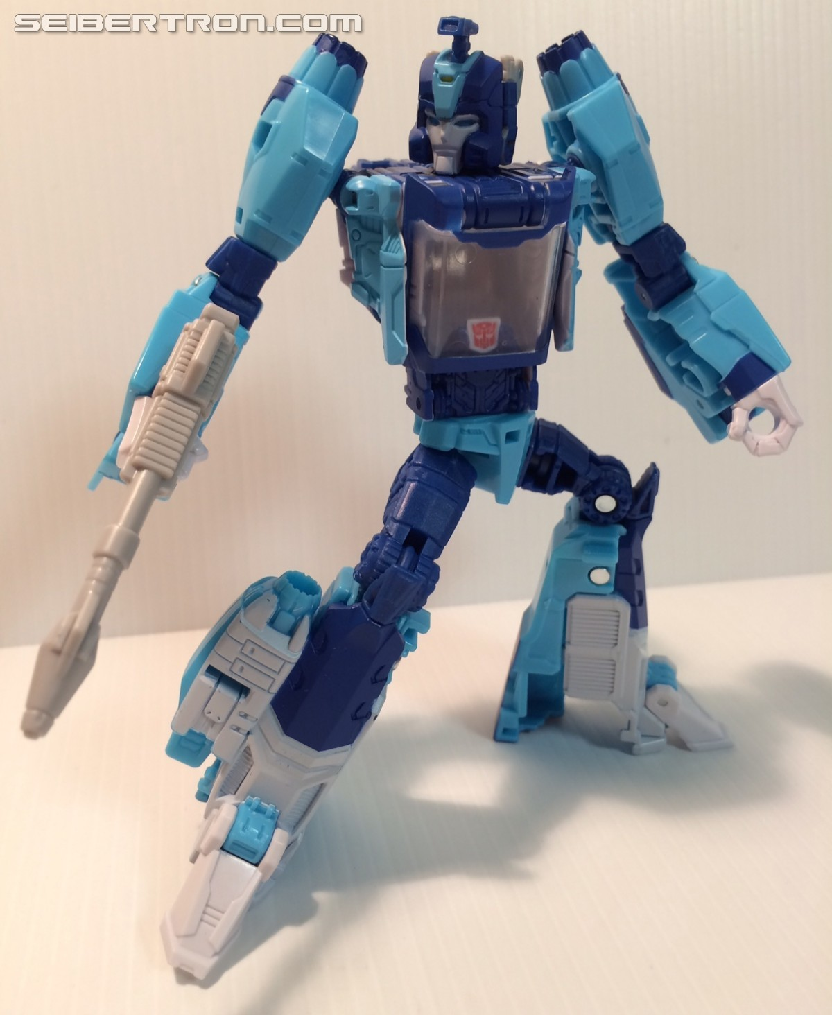 Transformers News: New In Hand Images of Takara Tomy Transformers Legends LG25 Blurr with Comic