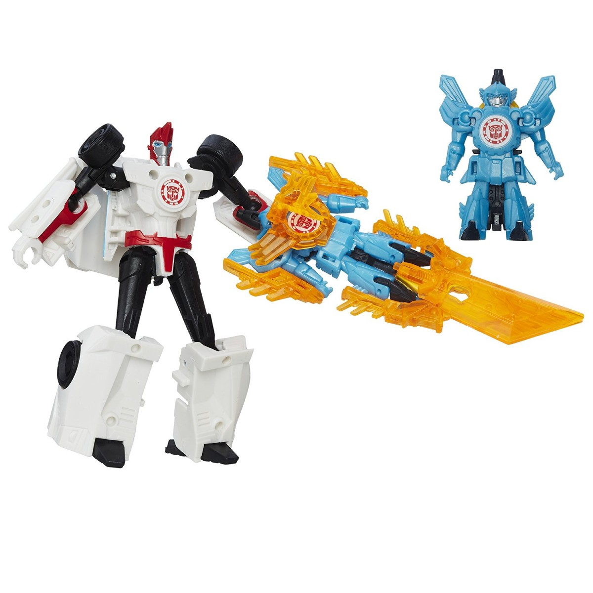 Transformers News: Transformers: Robots in Disguise Sideswipe and Windstrike Battle Pack Available Now