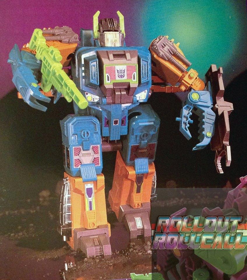 Transformers News: Unused Pre-production Alternate Deco G1 Scorponok Found