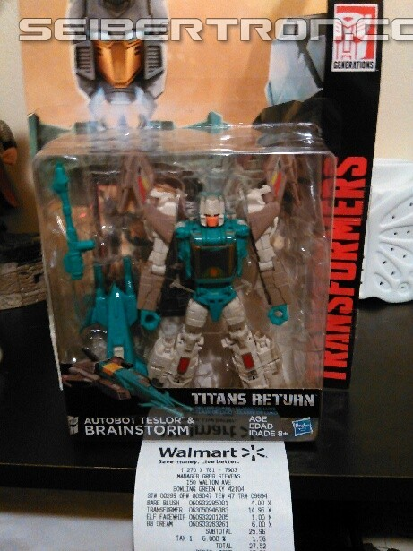 Transformers News: Walgreens Exclusive Transformers Titans Return Brainstorm Found at Walmart