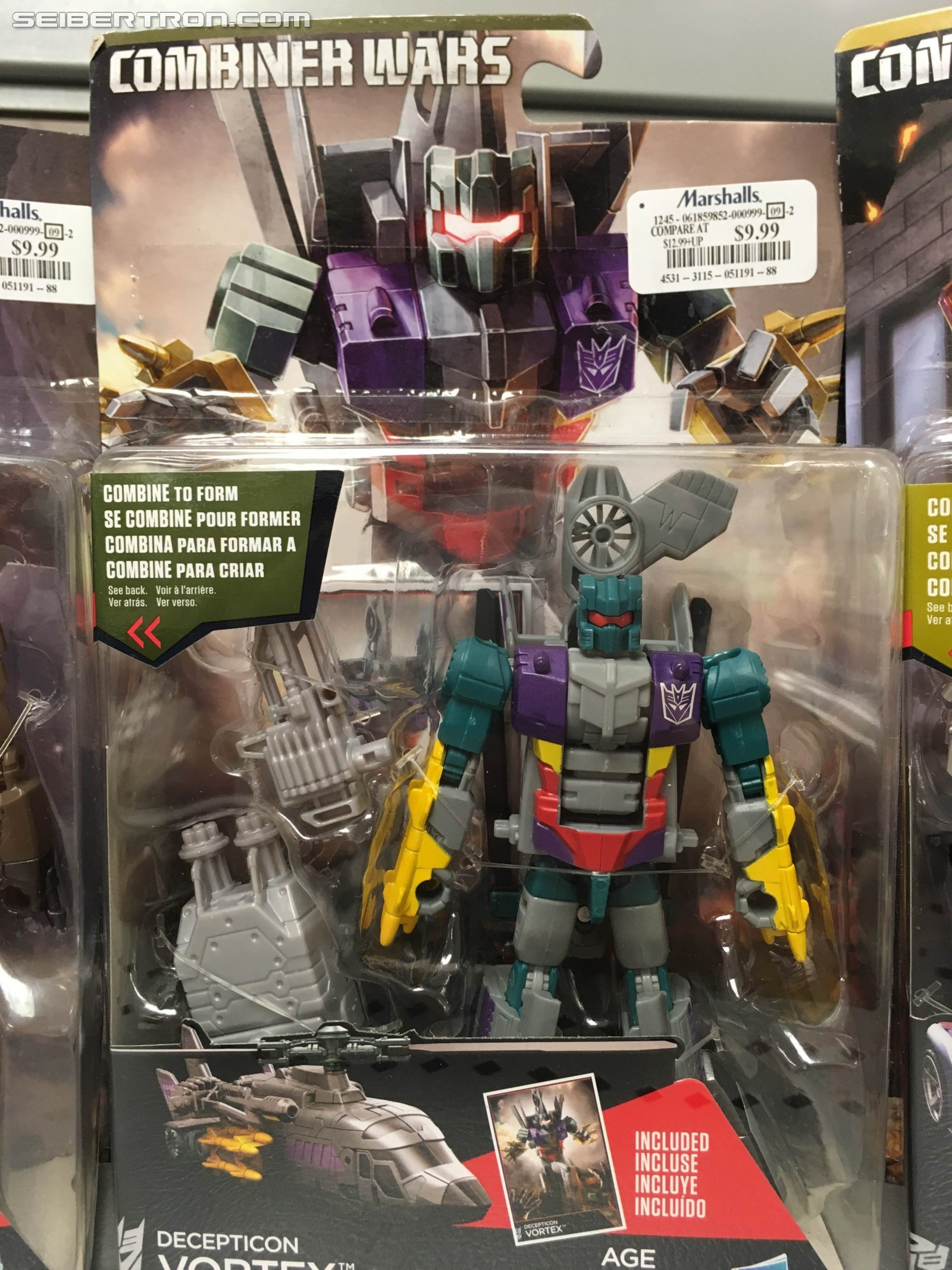 Transformers News: Multiple Transformers Combiner Wars Figures Appearing at Marshalls and Winners