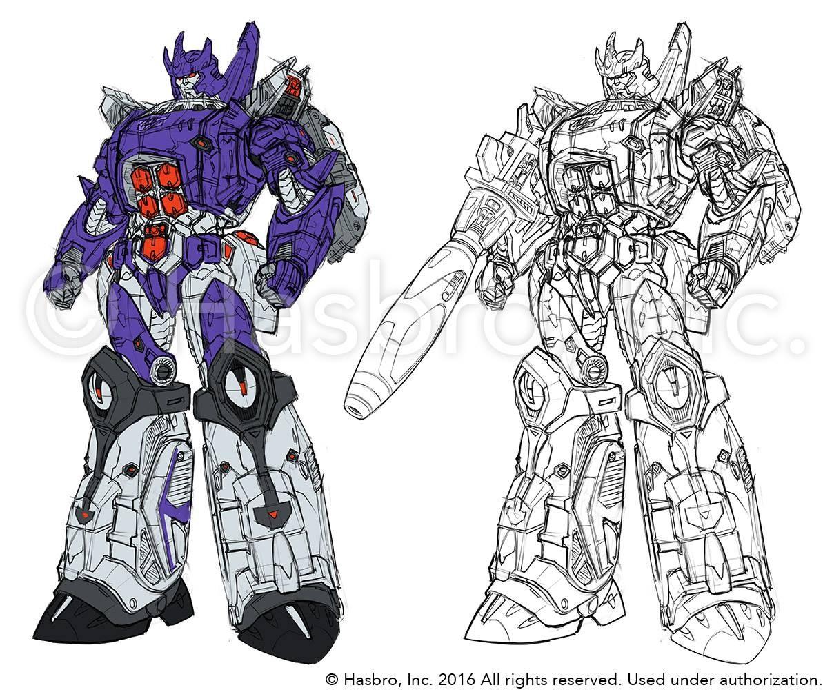 transformers titans return concept art power master
