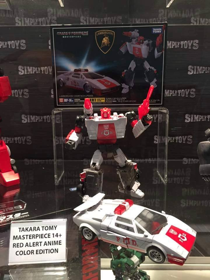 Transformers News: Singapore Toy Games and Comics Con Transformers Display: Unite Warriors, Legends, Masterpiece