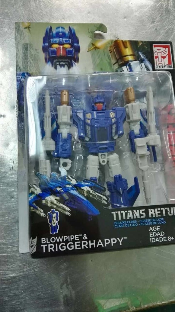 Transformers News: Wave 3 Transformers Titans Return Deluxes Twinferno, Breakaway, Triggerhappy, and Hot Rod