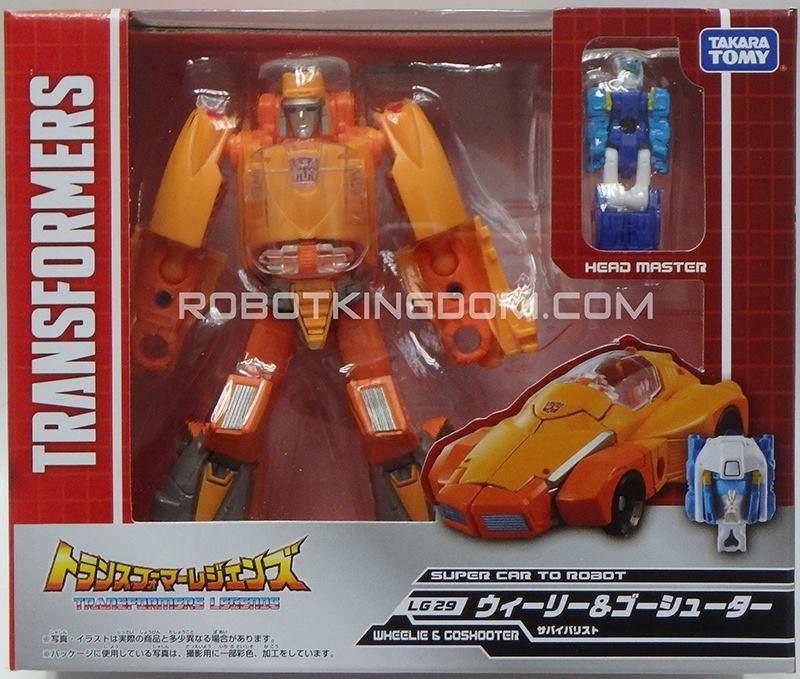 Transformers News: New Images of Takara Transformers Legends Weirdwolf, Blaster, Wheelie, Rewind and Fortress Maximus