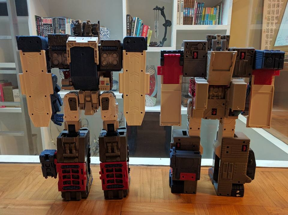 Transformers News: Takara Tomy Transformers Legends In-Hand Roundup: Fortress Maximus, Blaster, Rewind, And More