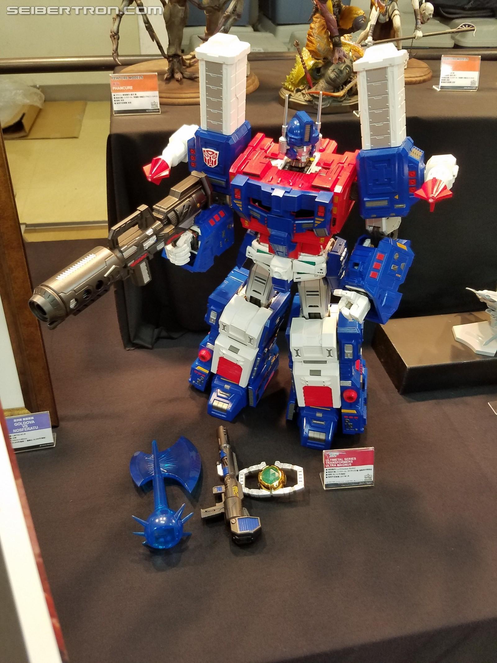 Transformers News: Re: Ultimetal UM-1 Optimus Prime, Ultra Magnus and more