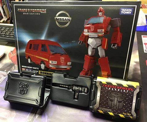 Transformers News: New Images of Drill and Briefcase Accessory for Takara Tomy Transformers Masterpiece MP-27 Ironhide