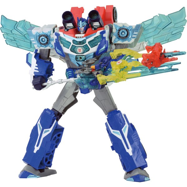 Transformers News: Takara TAV62 Deluxe Starscream Revealed for Transformers Adventure Line along with TAV 61