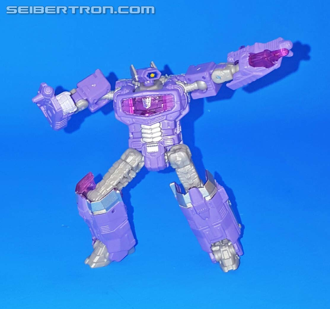 Transformers News: What's The Logical Choice? Seibertron User Review - Combiner Wars Legends Shockwave