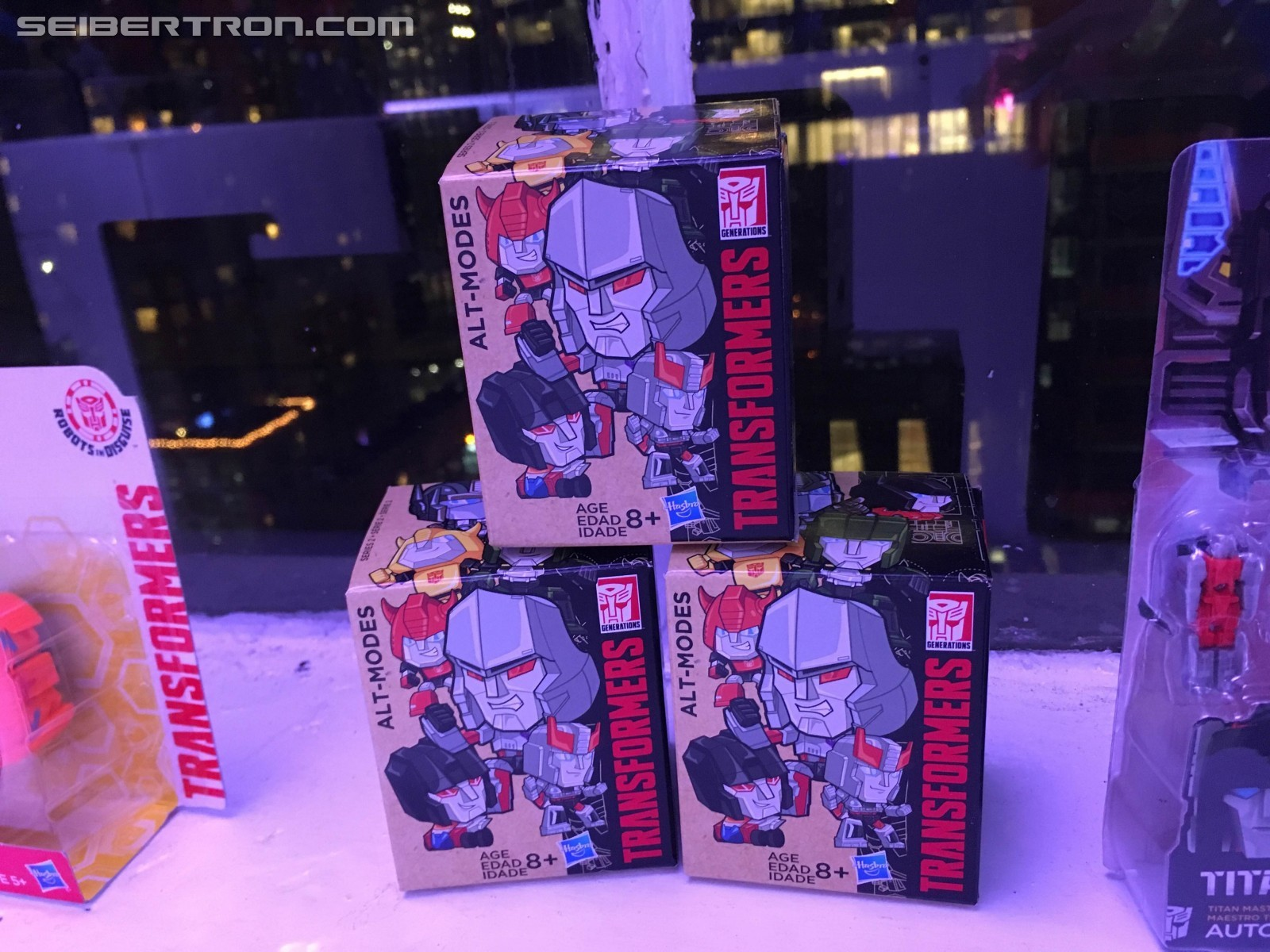 Transformers News: NYCC 2016 Transformers Alt Modes Reveals on Hasbro Preview Night