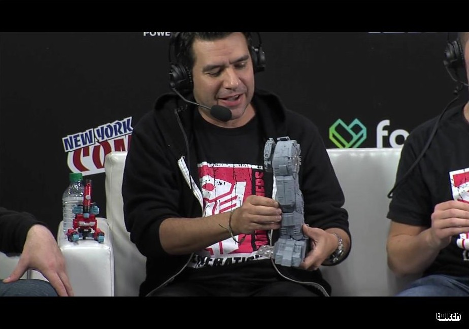 Transformers News: NYCC 2016 Hasbro Transformers Panel Report: The Last Knight Helmet, Titans Return Trypticon