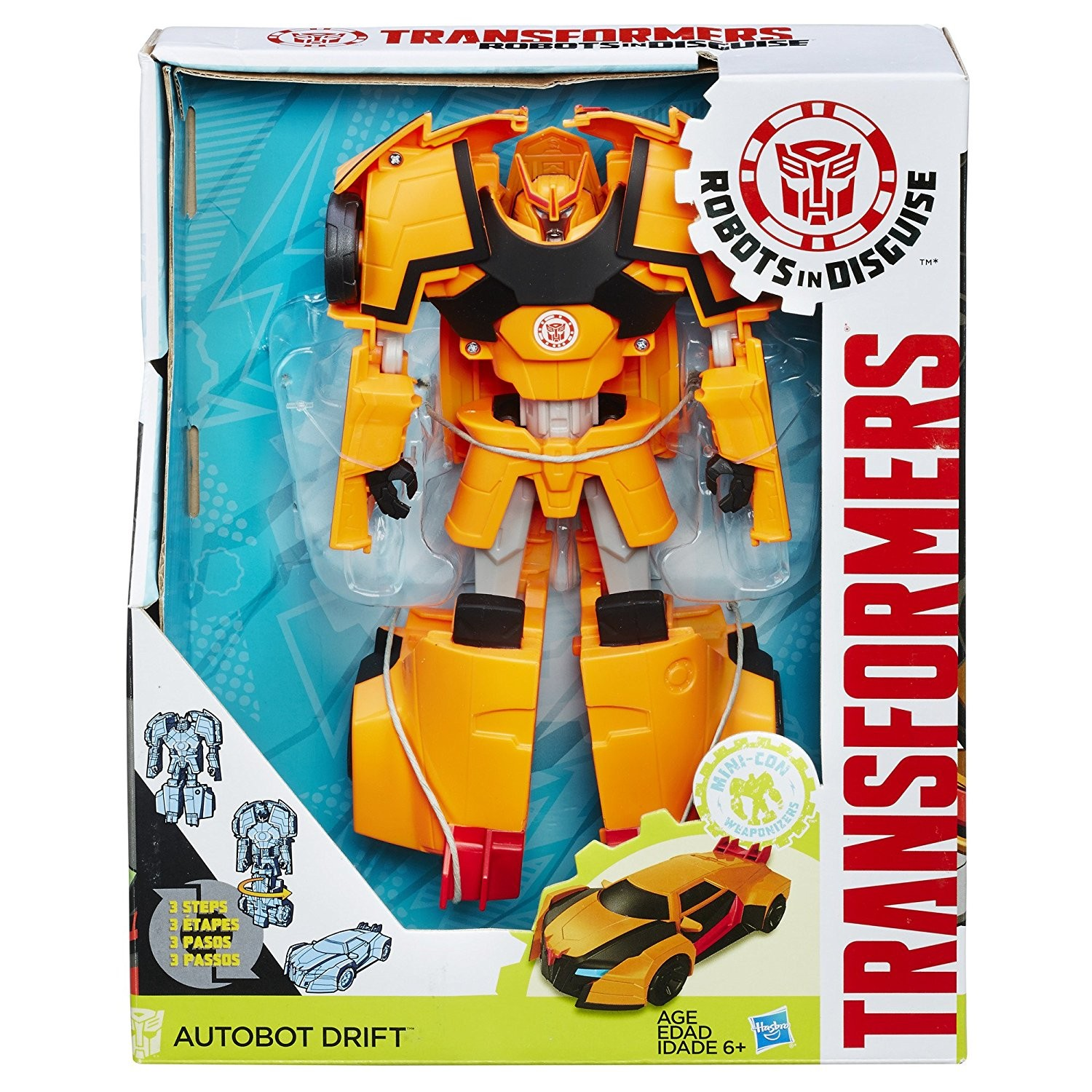 Transformers News: New Listings, Availability and Images for Robots in Disguise 3-Steps and Wave 2 Weaponizer Mini-cons