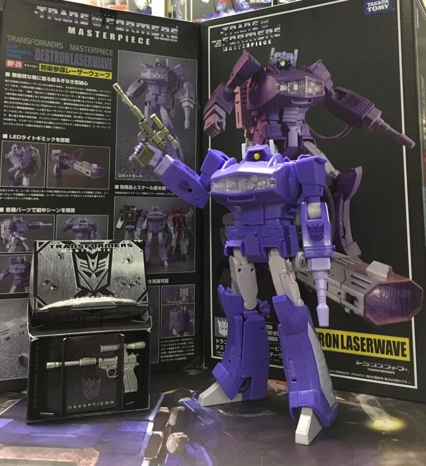 Transformers News: Images of Bonus Megatron Gun for Hasbro Asia Masterpiece Shockwave