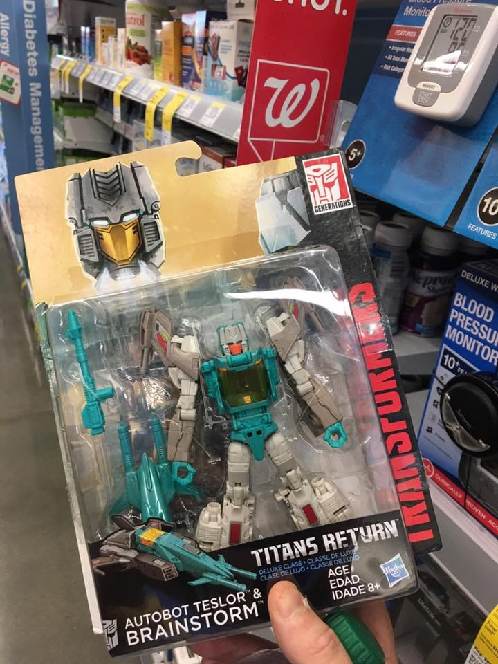 Transformers News: Titans Return Brainstorm Released at Wallgreens