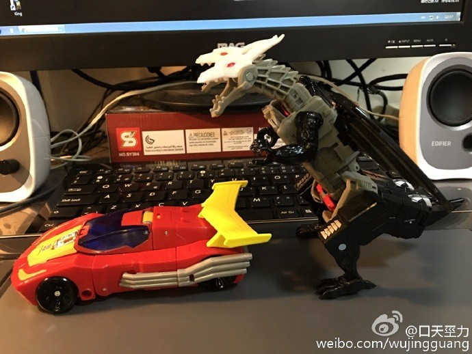 Transformers News: In-Hand - Transformers Titans Return Deluxe Rodimus and Twinferno