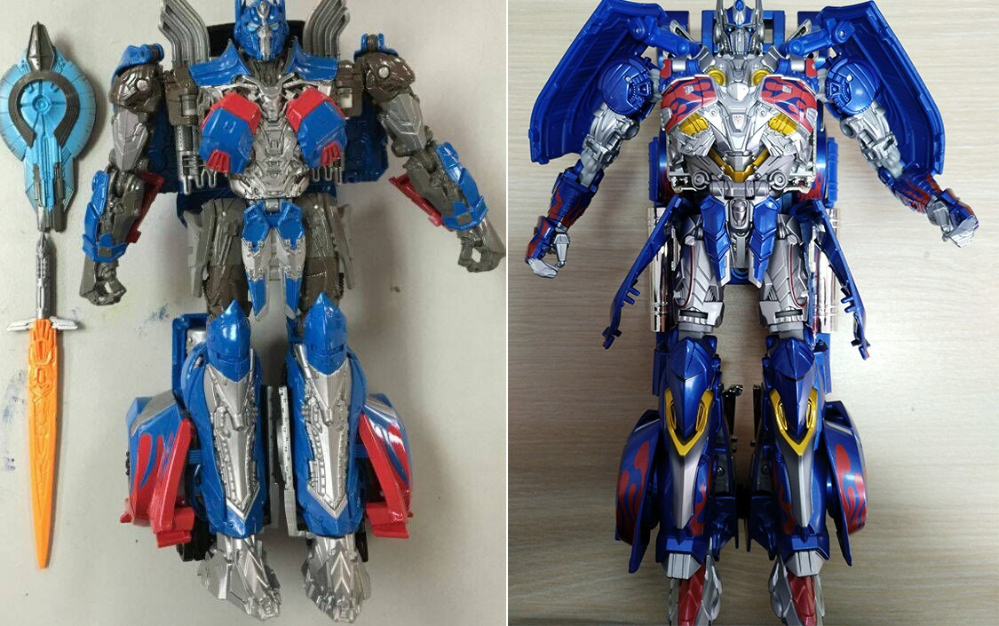 Transformers News: New Potential Image of Transformers: The Last Knight Optimus Prime Figure