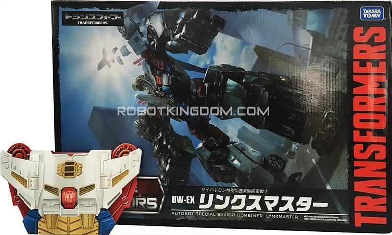Transformers News: Collector Coin Images - Takara Transformers Unite Warriors UW-EX Lynxmaster
