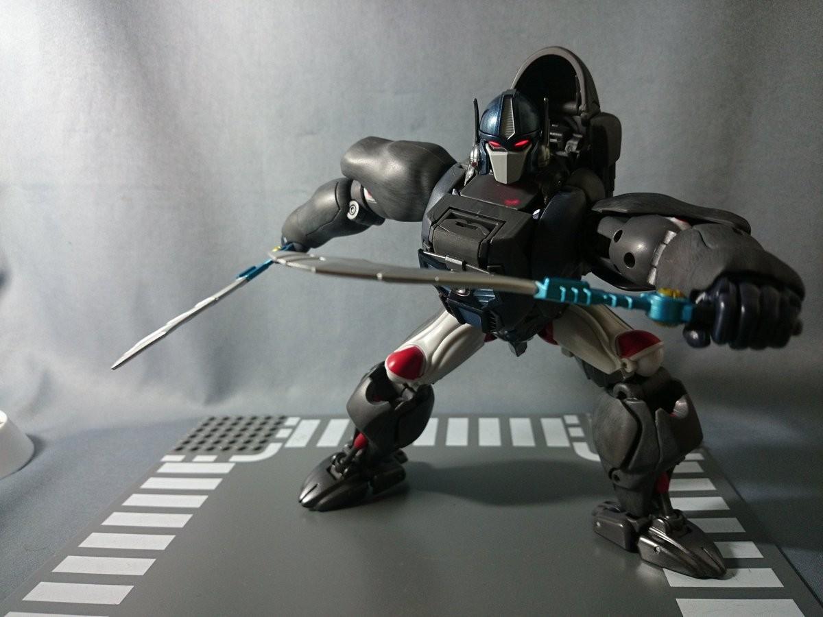 Transformers News: In-Hand - Takara Tomy Transformers Masterpiece MP-32 Beast Convoy / Optimus Primal