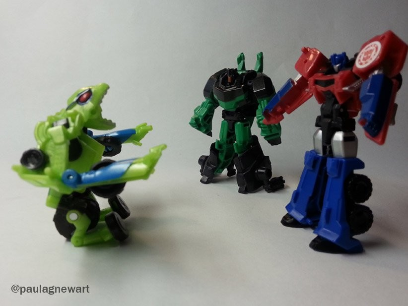 Transformers Combineur Force Grimlock /& STARSCREAM Figurines Robots in Disguise