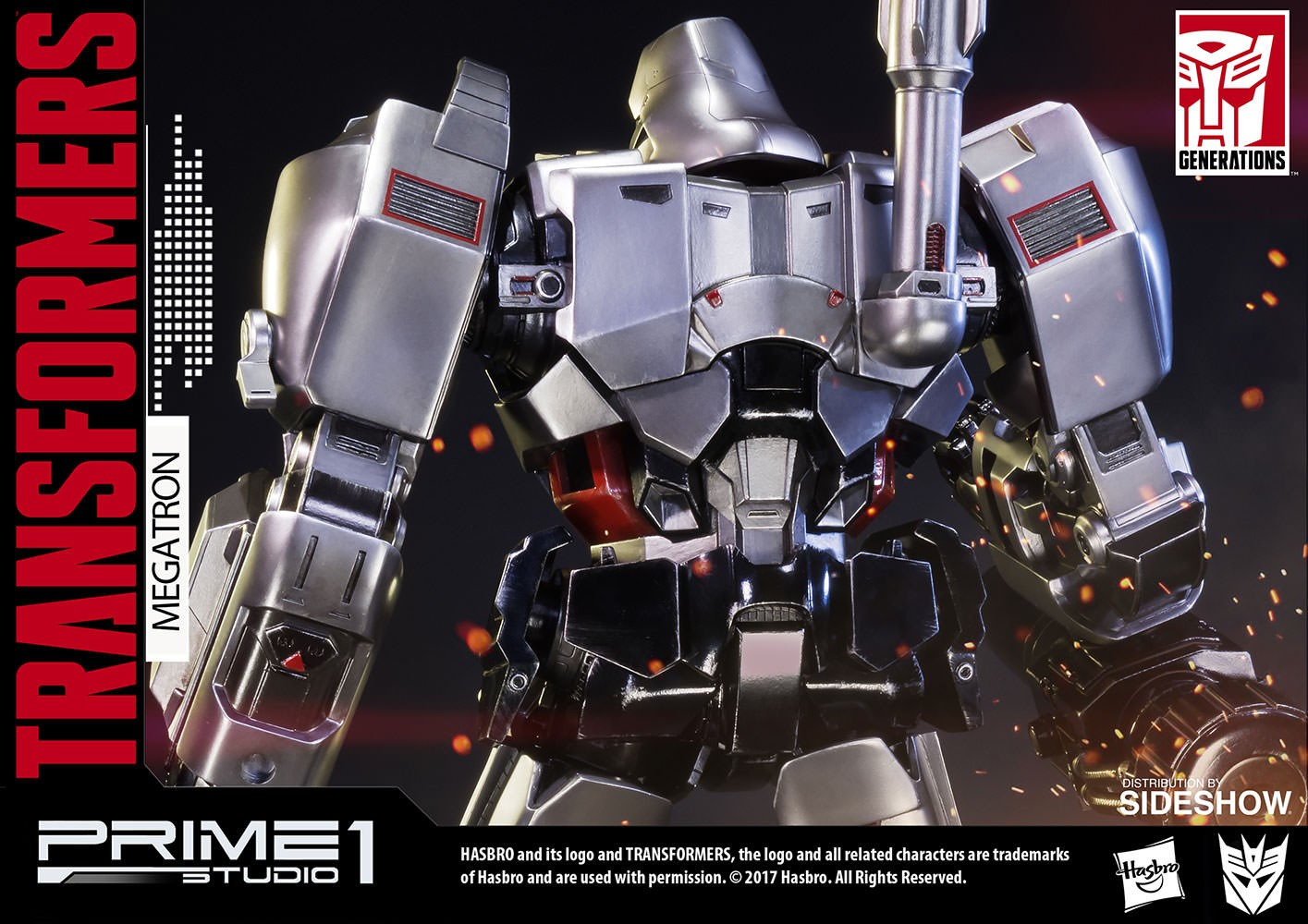 Transformers News: Prime 1 Studio Generation 1 Megatron New Up-Close Images