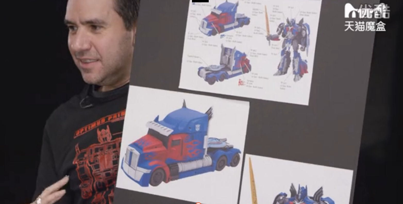 Transformers News: More Images of Transformers: The Last Knight Optimus Prime Toy, with John Warden
