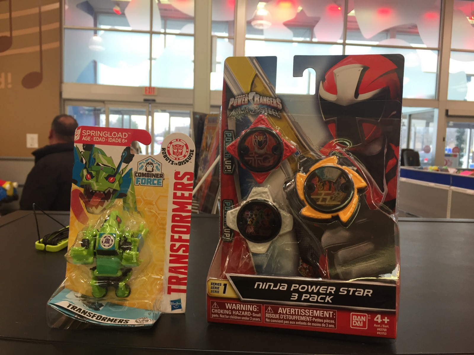 Transformers News: Robots in Disguise Combiner Force Legions Found at US Retail