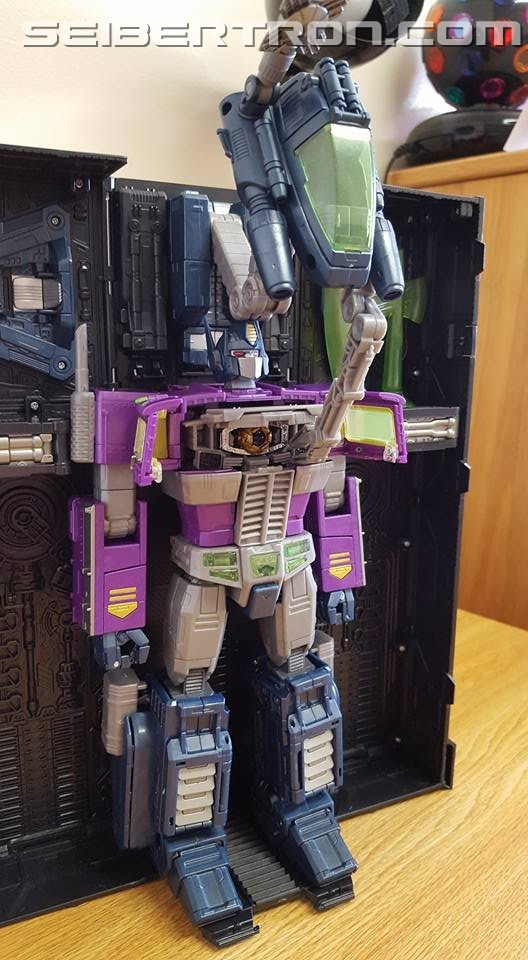 Transformers News: Masterpiece Shattered Glass Optimus Prime Review