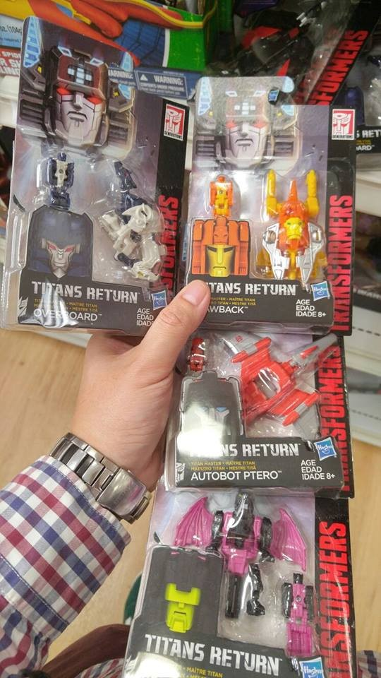 Transformers News: Transformers Titans Return Titan Master Wave 3 Sighted at Australian Retail