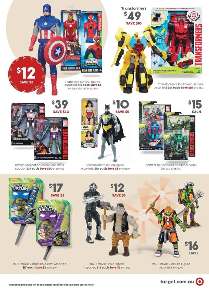 Transformers News: Transformers Robots in Disguise, Combiner Wars Figure On Sale at Australian Target