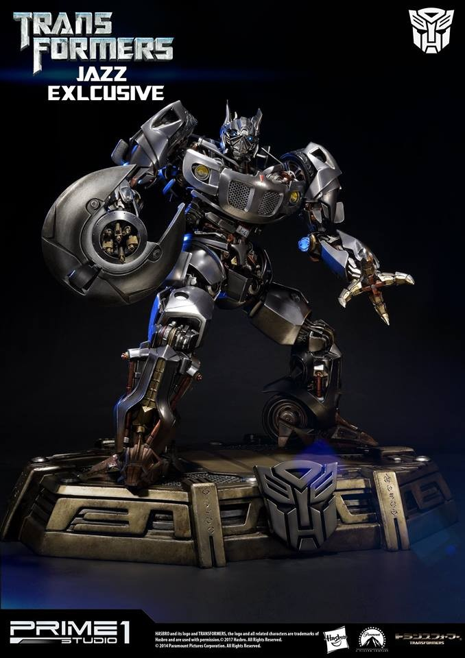 Transformers News: Prime 1 Studio Movie Jazz Full Images