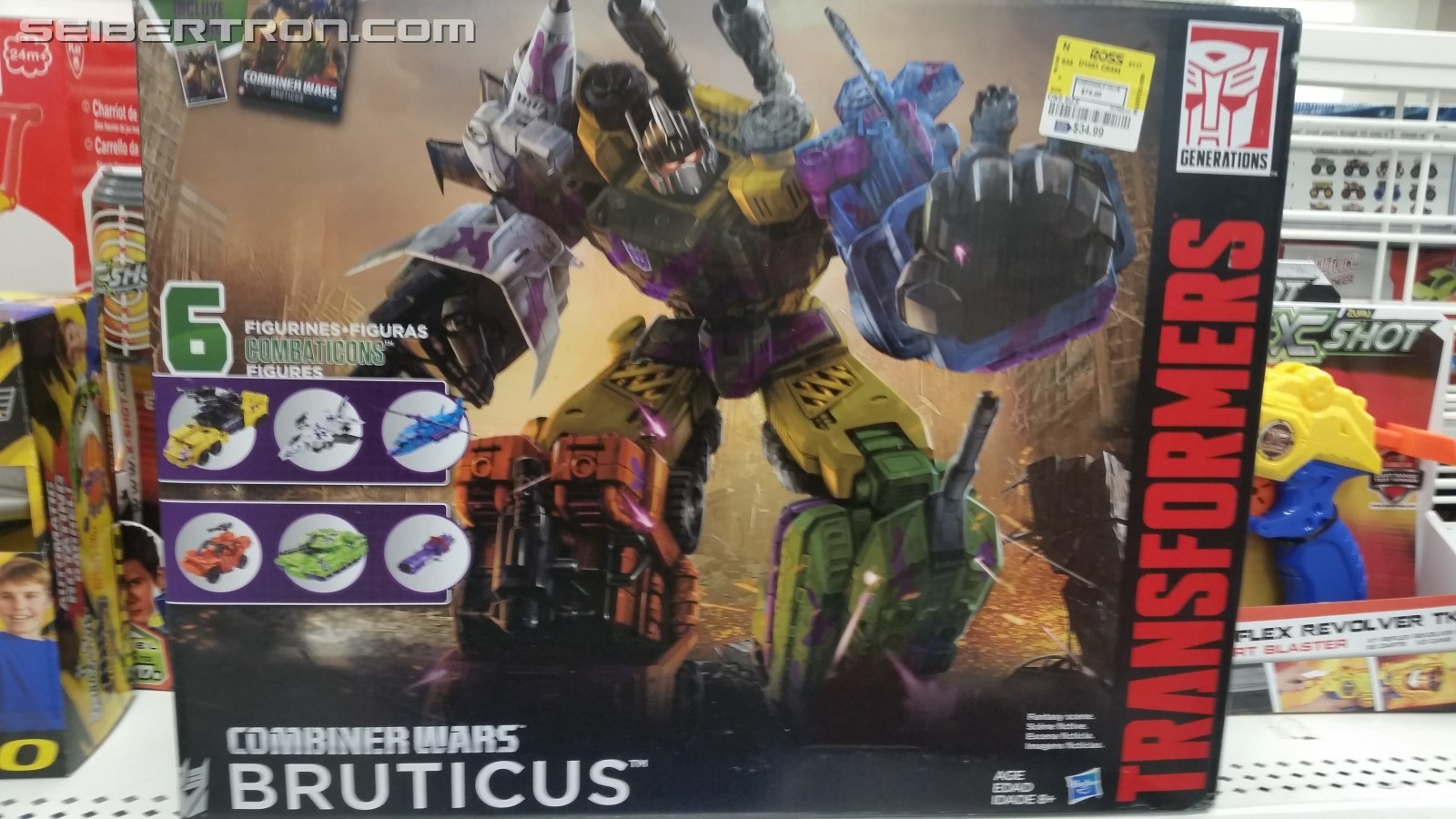 Transformers News: G2 Bruticus Found at Ross for $34.99