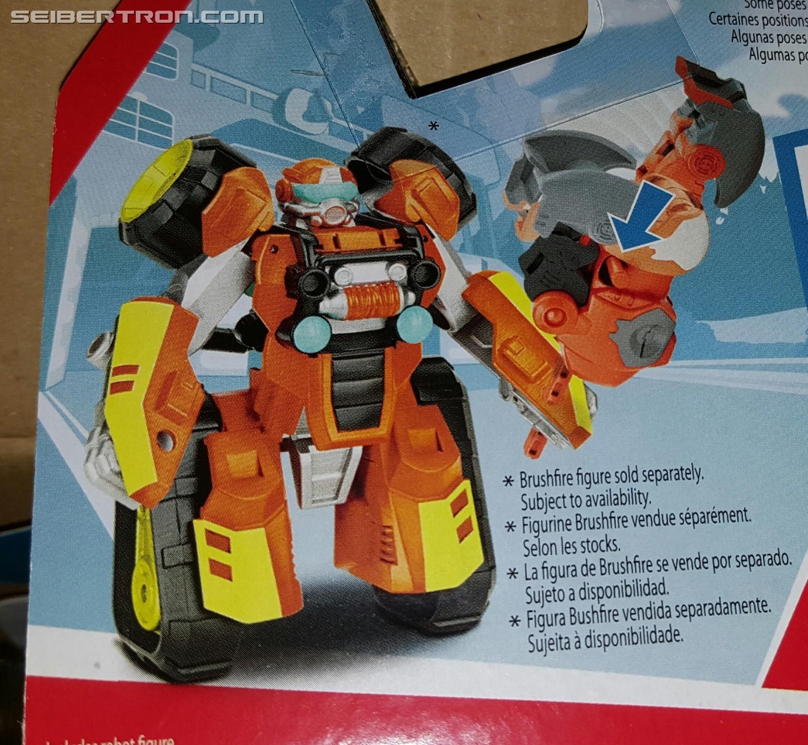 Transformers Rescue Bots Atv Brushfire Revealed Sequoia