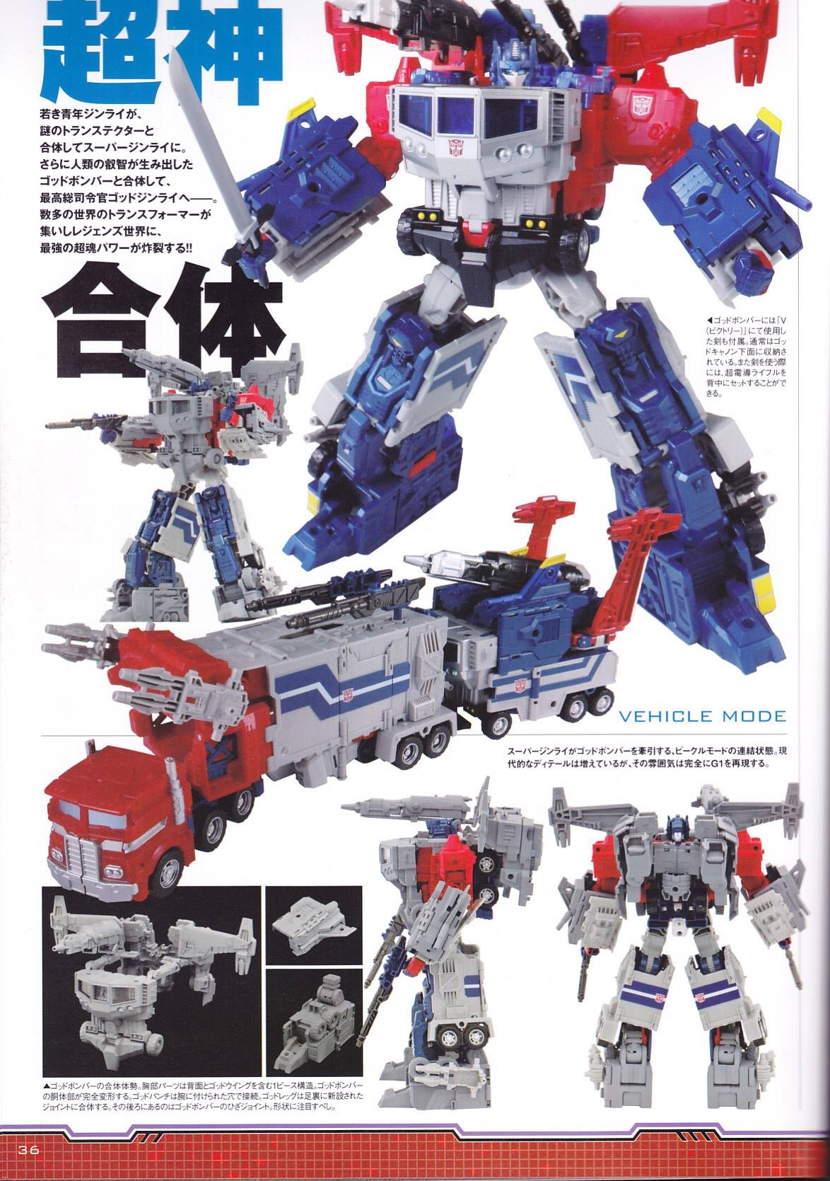 hi res scans and in hand images for takara transformers
