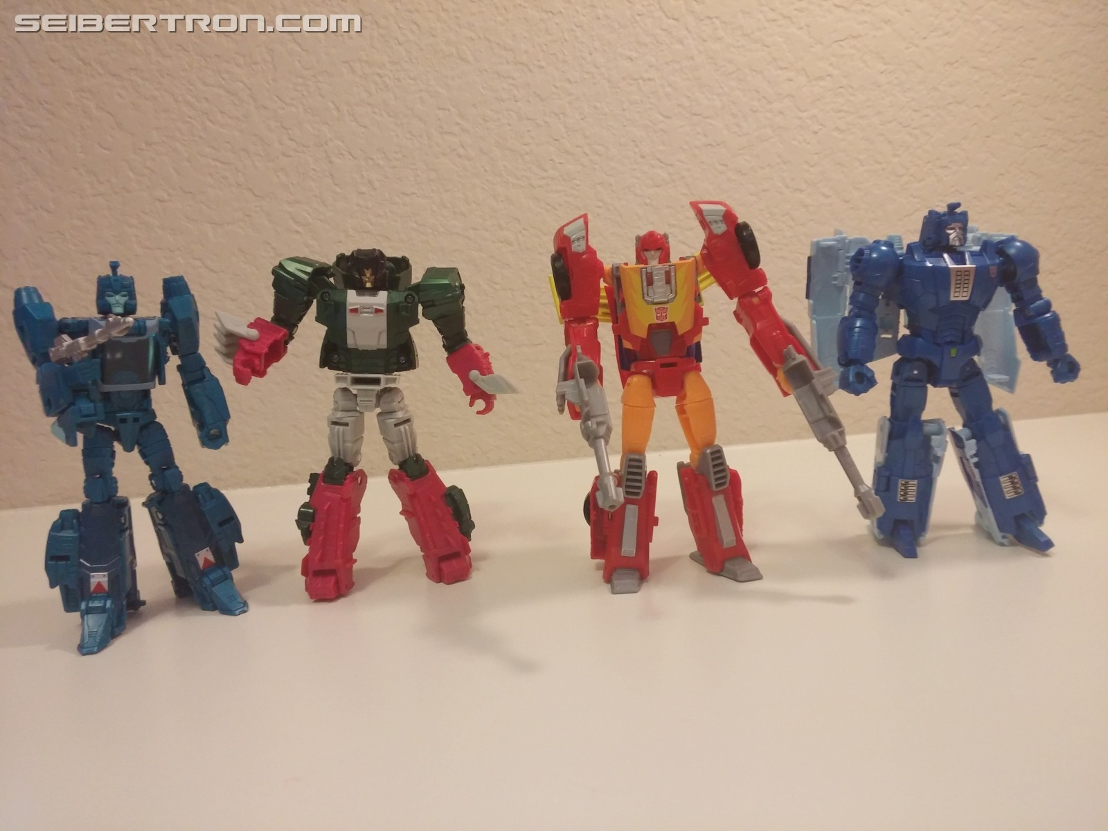 Transformers News: Titans Return Hot Rod Pictorial Review