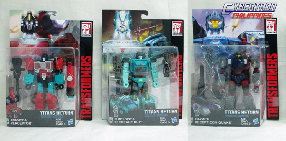 Transformers News: Titans Return Wave 4 Packaging and names revealed