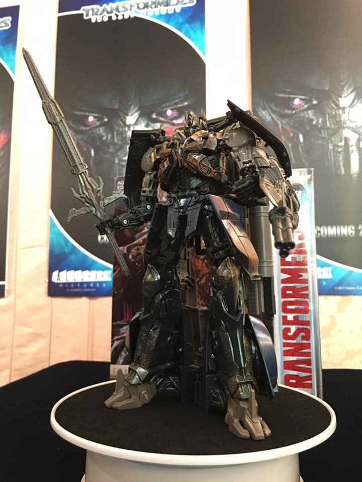 Transformers News: Leader Class Transformers: The Last Knight Shadow Spark Optimus Prime and Bumblebee Masterpiece