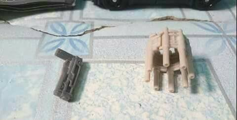 Transformers News: First Images of Transformers: The Last Knight Deluxe Barricade