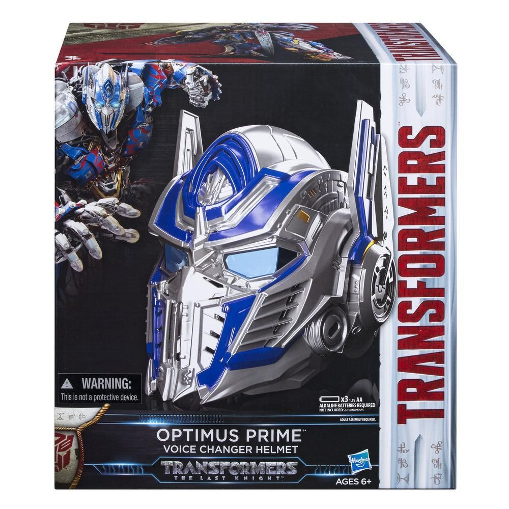 Transformers News: Transformers: The Last Knight Optimus Prime Voice Changer Helmet In-Stock at Hasbro Toy Shop