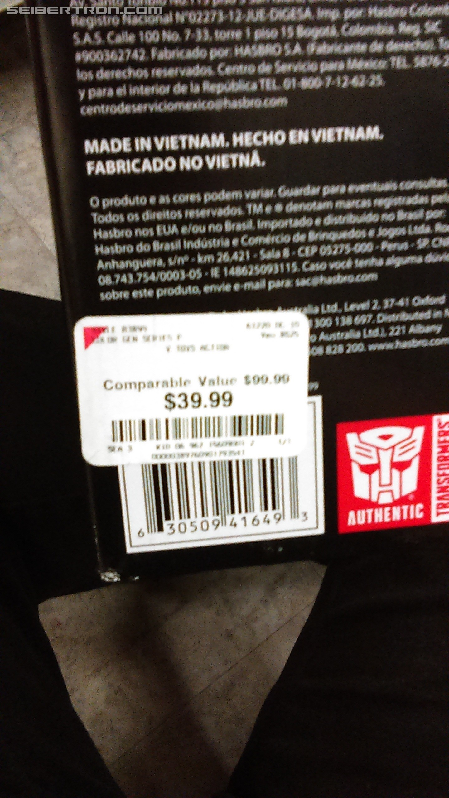 Transformers News: Combiner Wars G2 Bruticus found for $40 at Burlington Coat Factory