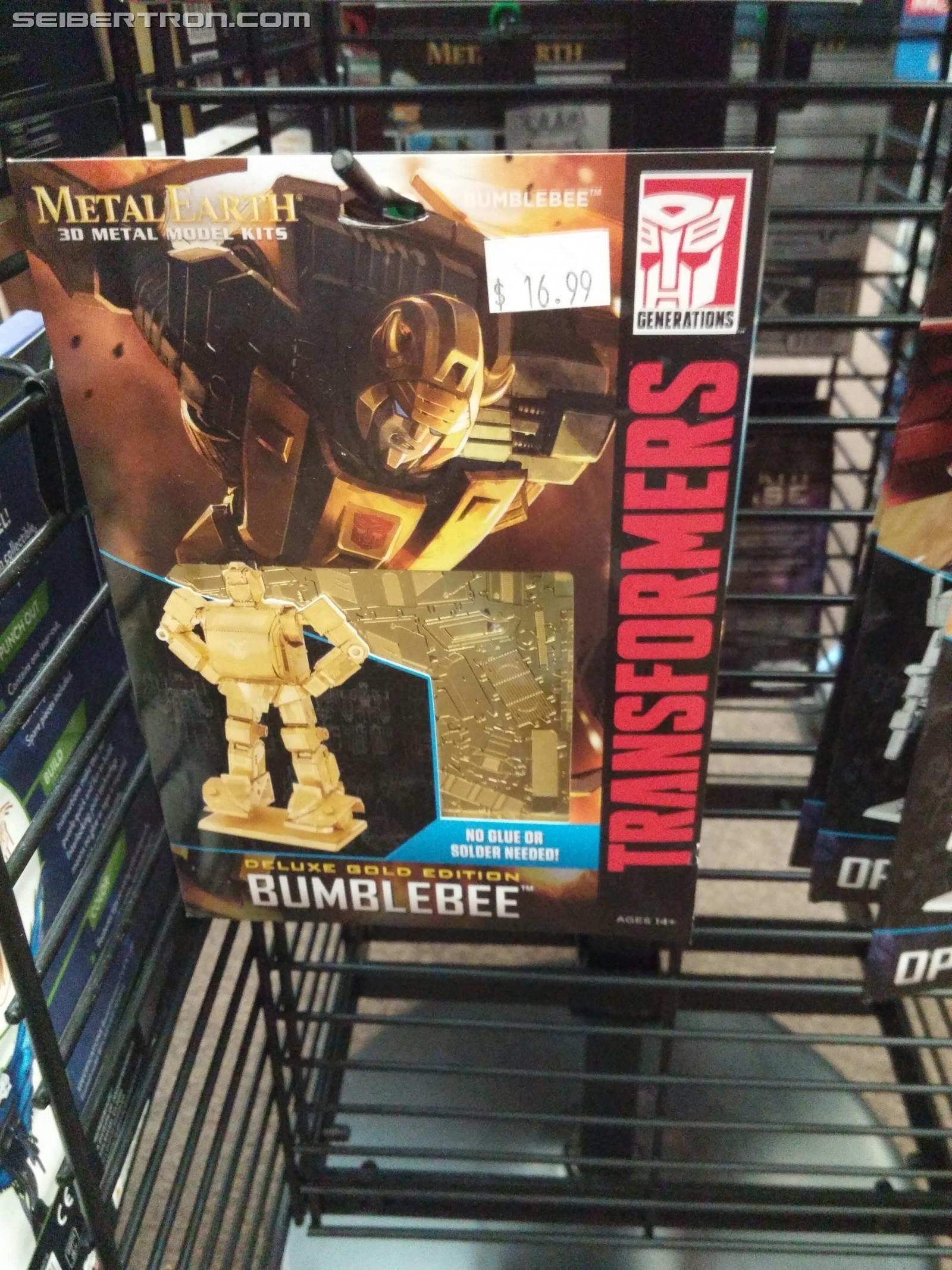 Transformers News: Re: Transformers Metal Earth 3D Models Thread