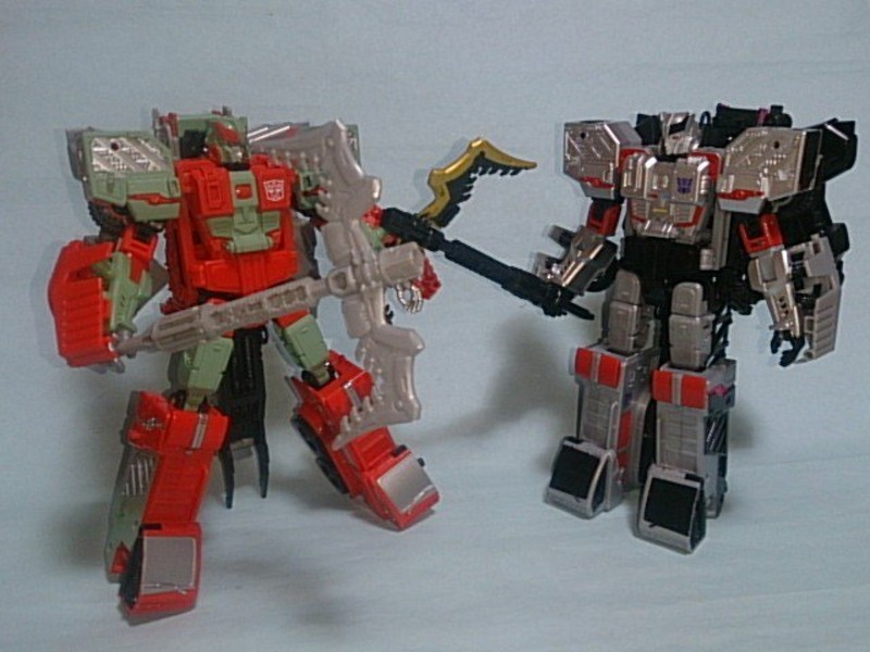 Transformers News: Takara Tomy Unite Warriors Megatronia in Hand Images