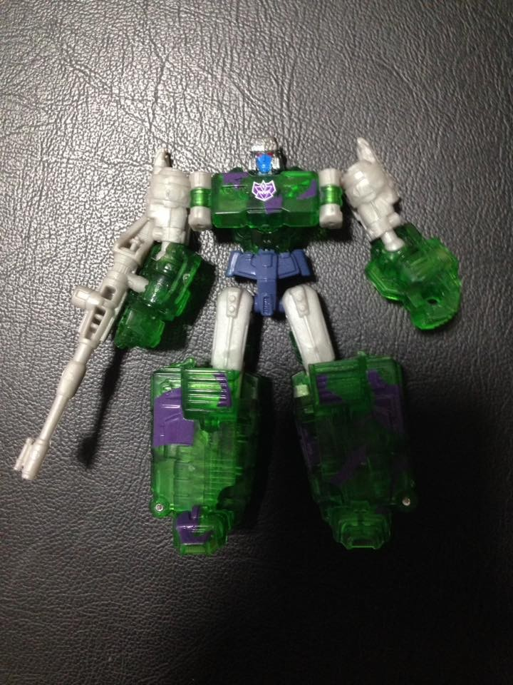 Transformers News: In-Hand Images of TFCC GI JoexTransformers Ninja Force Hologram Megatron