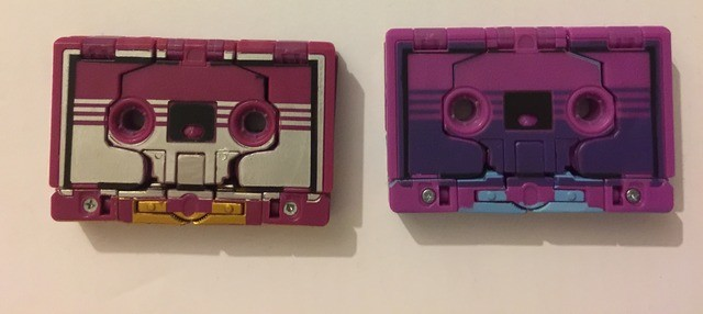 Transformers News: More Images of TFCC GI JoexTransformers Ninja Force Hologram Megatron and Ratbat