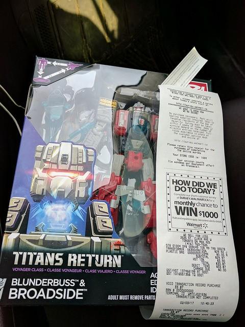 Transformers News: Titans Return Voyager Broadside Found in Canada