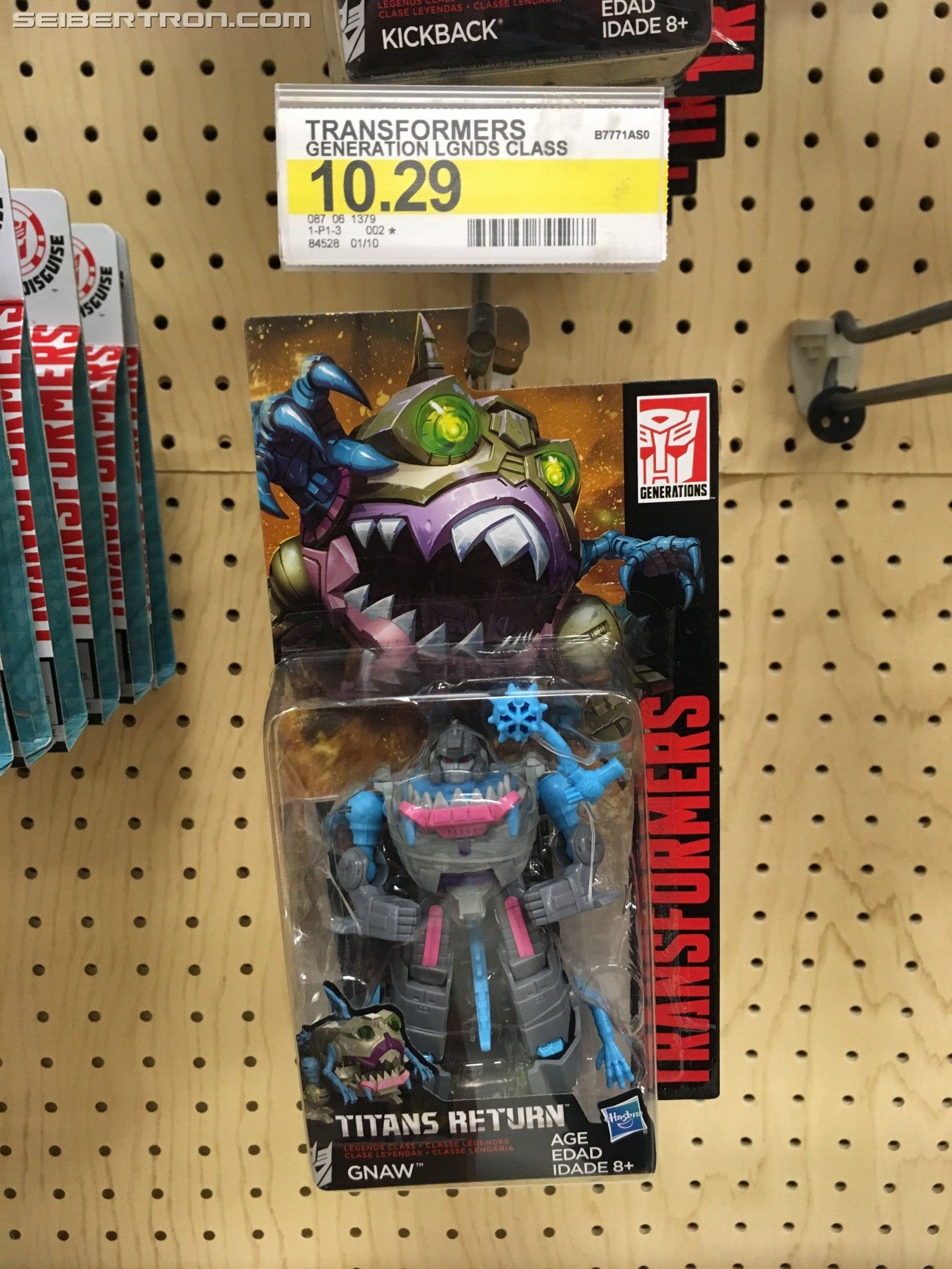 Transformers News: New Sightings of Titans Return Wave 3 Legends Class Gnaw, Bumblebee and Kickback
